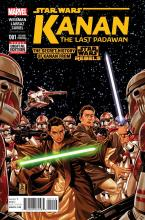 Kanan The Last Padawan Cover Art