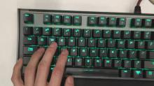 Respect your keyboard. WASD is the way of the warrior.