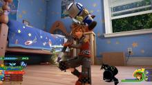 Sora can now use his Keyblade as a hammer to smash foes to oblivion!
