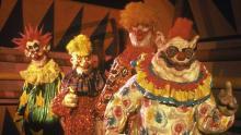 extraterrestrial clowns