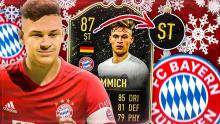 Kimmich is so good he can even player striker.