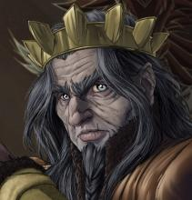 The Monarch of the Dwendalian Empire, currently at war with the Dunamantic Kryn Dynasty.
