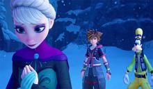 Kingdom Hearts III world of Frozen