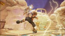 Expansive than ever, Sora can now use a Keyblade as a shield