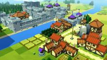 Farms on the outskirts of the kingdom in Kingdoms and Castles