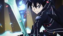 Kirito's special ability to dual wield gives him an extra edge against the game master.