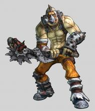 Krieg was a vault hunter that was released in a DLC format. He had a very interesting playstyle and his tragic backstory and random nature made him a fan-favorite character many can't wait to see make a return in the next speculated DLC.