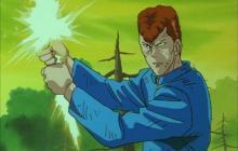 Kuwabara fighting Rando