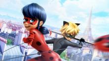 Paris' new crime fighting duo, watch how Marinette and Adrien keep their identities from their friends and family.