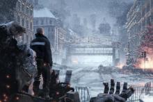 Left Alive has a uniquely lush universe.