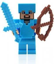 Lego Steve a part of the official Minecraft collection