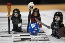 Legos as D&D Minis