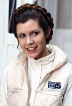 Leia as she appears in The Empire Strikes Back