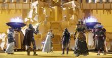 The Contender's Ghost shell can be awarded from the Leviathan Raid