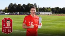Player of the Month is a common accolade for Robert Lewandowski, but can he win it for your team on FIFA 20?