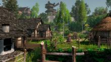 A town in Life is Feudal: Forest Village