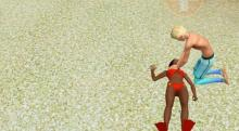 Sims 3 Island Paradise provides the Lifeguard career
