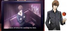 Death Note fans might recognize this cameo in Death Parade (hint: it's Light Yagami!)