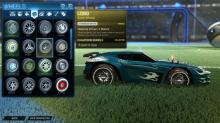 Lobo exotic wheels - Titanium white. This item keeps track of how much distance you cover on the ground.
