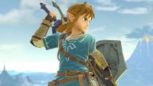 Link's design was changed in Ultimate to fit in with his newest title: Breath of the Wild