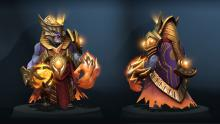 A royal Lion in Dota 2
