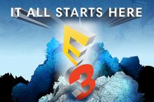 the logo at E3 changes every year.