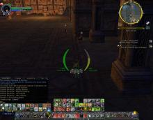 Though no longer being updated, this addon gives you a visual of your morale and other stats right by your character.