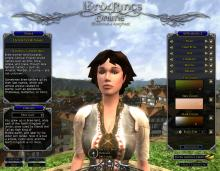 A look at the older character creation tool for the Race of Man.