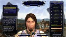 The newer character creation tool for the Race of Man.