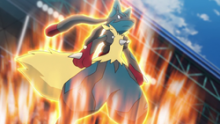 Lucario is incredibly powerful Pokemon that makes for a good ally.