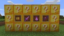 Lucky blocks from the Lucky Block mod