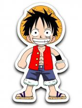 Even if a Chibi, Luffy can kick your butt.