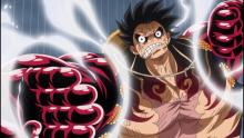 The hero of One Piece in his powered up form!