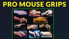 Showing how professional CSGO players actually grip their mouse. It's always interesting to see how different playstyle each one has.