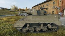 Just your friendly neighborhood M8A1 the tank destroyer.