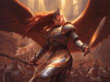 Aurelia and the Boros are great for aggressive decks. I would argue Aurelia is a more consistent Sir Gywn.