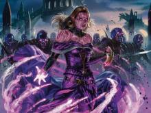 Liliana is also another good Commander here. Her sacrifice and draw engines can keep your opponent's board empty and your hand full.
