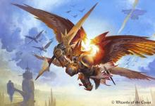 Feather provides a more spell heavy Boros deck. If you love combat tricks, then this is your commander!