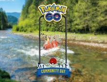The special catch for August Community Day 2020.