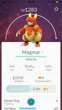 Magmar is one of the best Fire-type pocket monsters in Pokemon GO.