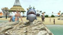 Perfect for summer glamour is a shark minion to accompany WoL.