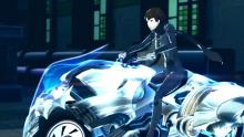 Makoto with probably the coolest Persona ever!