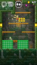 As Mario continuously runs, control his jumps to make it through each handcrafted level.