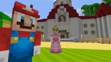 I leave you with this. Mario in Minecraft! Now that is something special.