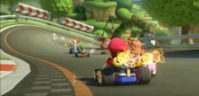 Mario Kart 8 brings back original tracks like Royal Raceway.