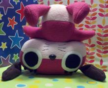 A fan handmade this Maromi plush from Paranoia Agent