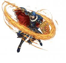 The Hero-King Marth and his Falchion are inseparable from the Fire Emblem series