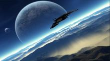 The scenery in Mass Effect can be breathtaking.