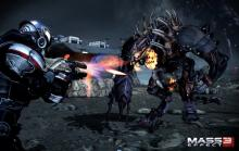 Enemies in Mass Effect 3 are larger than ever.