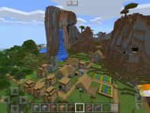 Villages have evolved since they were first released. This massive village is an example
